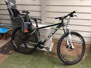 Mountain bike with new child seat. Batemans Bay Eurobodalla Area Preview
