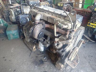 Cummins M11c Turbo Diesel Engine Takeout Hyundai Excavator Terex 350 Hp M11