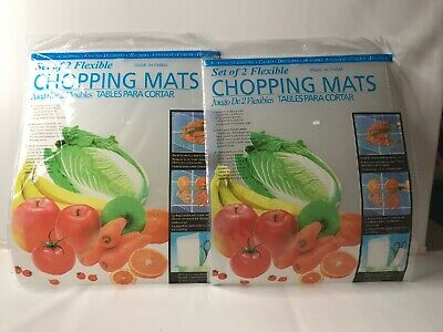 4 Piece Pack Flexible Chopping Mat Cutting Boards Size 12