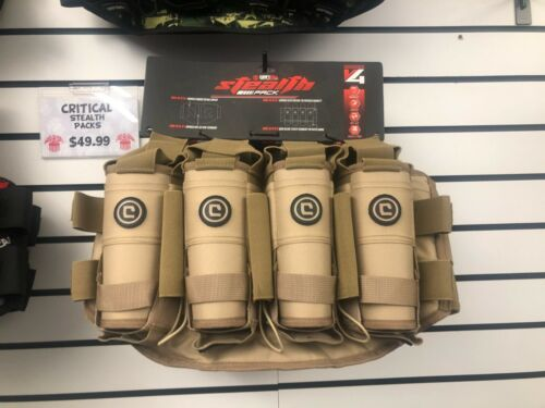 Critical V4 True Ejection Pod Pack Harness - Coyote Tan