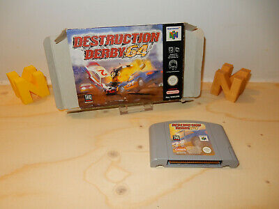 PAL N64: Destruction Derby 64 with Box without Manual OVP Boxed Nintendo 64