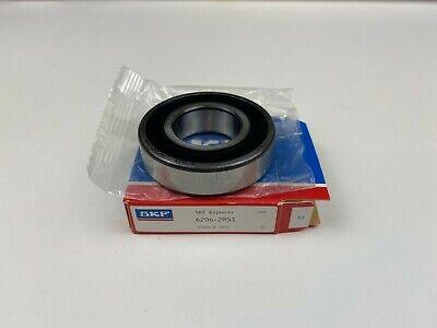 Skf Brand Explorer 6206-2rs1 Rubber Sealed Deep Groove Ball Bearing 30x62mmx16mm