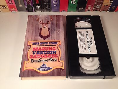 Making Venison Sausages Texas Country Style Vhs 90 R Cinco Ranch Kitchen Recipe
