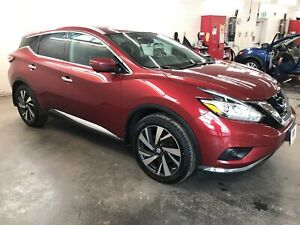 2016 Nissan Murano Platinum! CLIMATE! LEATHER! MOONROOF!