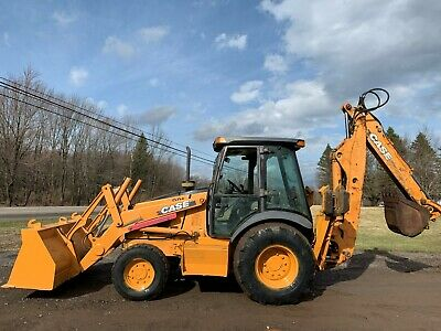 2002 Case 590 Super M 4x4 Tractor Loader Backhoe W Extendahoe