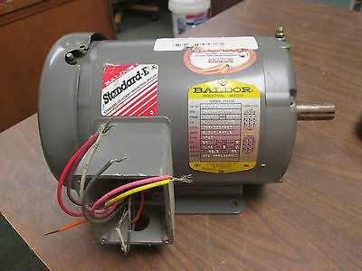 Baldor Motor M3546t 1hp 1740rpm 143t Frame 230460v 2.81.4a New Surplus