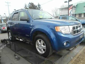 Ford Escape AWD 4X4 2008 Bleu