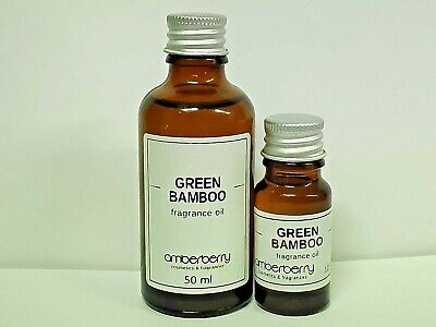 Green Bamboo Fragrance Oil 50 ml - Best Quality for soap,candles,bath