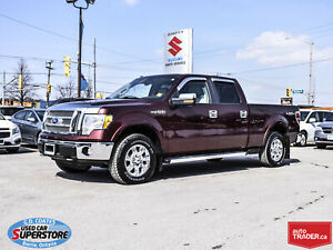 2010 Ford F-150 Lariat Super Crew 4x4 ~Heated Leather