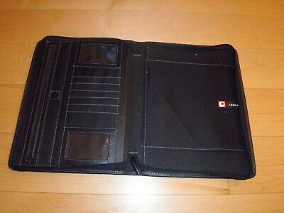 Leeds Professional Genuine Leather Padfolio - Organizer Notepad Holder