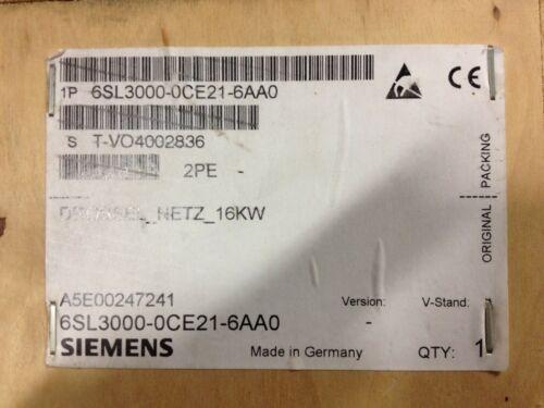 6SL3000-0CE21-6AA0  SIEMENS Line Reactor  16kW 6SL30000CE216AA0