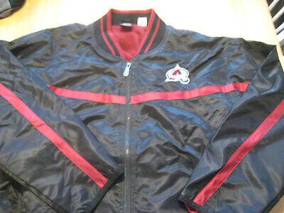 Nike Colorado Avalanche team hockey jacket L large men's  Nike Hockey Jacket