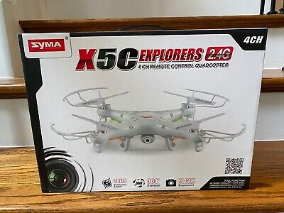 Syma X5C Explorers Drone 2.4Ghz 4CH 6-Axis Gyro RC Quadcopter with HD Camera