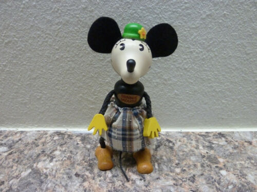 Schylling Wooden Figure Disney Minnie Mouse