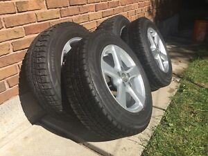 215/65 R16 Bridgestone Blizzak Winter Tires and Rims
