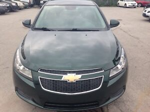 2014 Chevrolet Cruze Sunroof+ Back up Cam+ Low Km