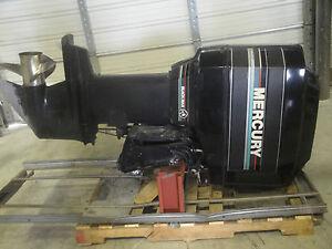 150 Mercury Black Max Outboard Motor 25 034 Shaft Ebay