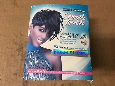 Luster's Pink Smooth Touch Growth Relaxer Kit, Regular kit PACKAGING Vary