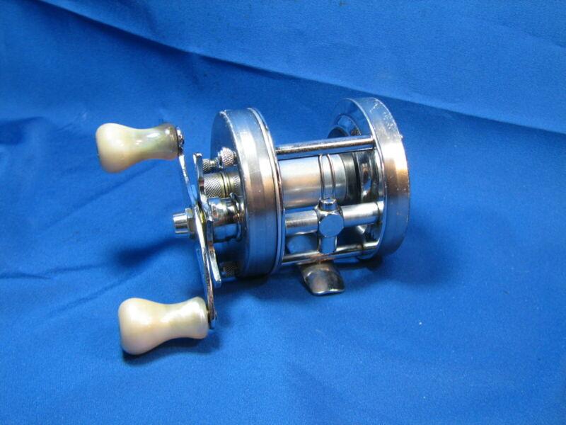 "Vintage ABU Garcia Ambassadeur 5500C ""ZORRO POWER HANDLE"" Fishing Reel #740902"