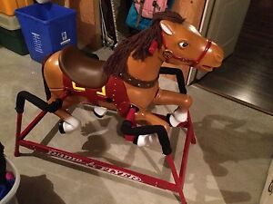 Radio flyer horse