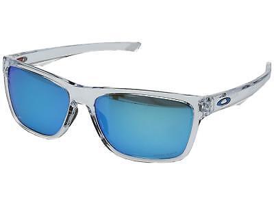 Oakley Holston OO9334-13 Sunglasses Polished Clear Prizm Sapphire Lens 9334 13