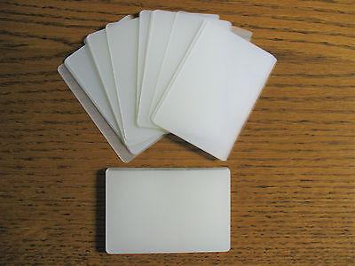 200 Laminating Laminator Pouches Credit Card Size