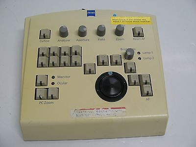 Used, CARL ZEISS 41302010124 MICROSCOPE / CAMERA CONTROLLER FOR MEG SYSTEM for sale  Mesa