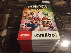 Selling off some UNOPENED packs of Mario Amiibo card packs!!!