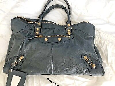 Used, BALENCIAGA MOTORCYCLE BAG BRAND NEW DISTRESSED LEATHER for sale  Hollywood