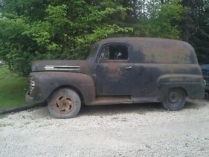 *1949 Ford F47 Panel truck *