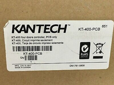 Kantech Kt-400-pcb Door Controller For Access Control Systems