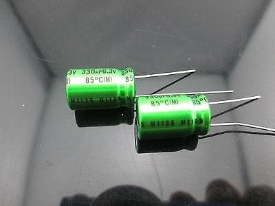 Japan 10pcs Nichicon Muse Es Bp 330uf 6.3v 330mfd Audio Capacitor Caps