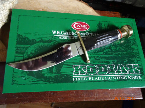 """CASE CA-395 LIMITED EDITION BOWIE KNIFE 10 1/2"""" OVERALL BUFFALO HANDLE 6"""" S.S. B"""
