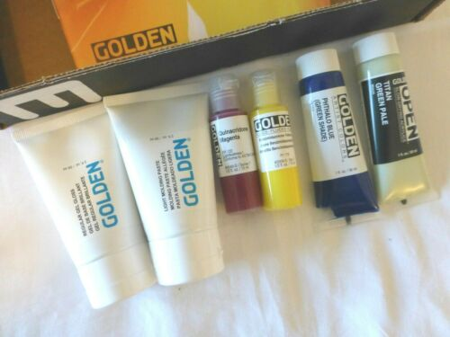 Golden Artist Paint Set NEW Samples Box