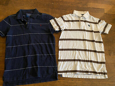Lot American Eagle Abercrombie Polo Shirts  Men's Size XS YL