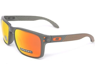 NEW Oakley Holbrook Sunglasses, Matte Olive Ink / Prizm Ruby Lens, OO9102-E7  for sale  Shipping to India