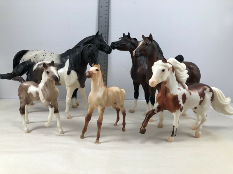 Breyer Collector Horses Figurines Variety Lot Of 7