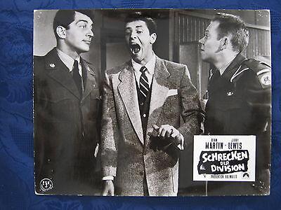 Kinoaushangfoto Schrecken der Division / Jumping Jacks  Dean Martin , J.Lewis 3.