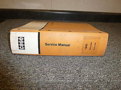 Case 1840 Uniloader Skid Steer Shop Service Repair Manual 811090