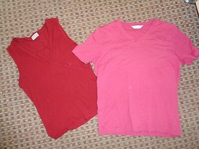 Next-LADIES T-SHIRT TOP SIZE 14 CASUAL SMART WORK-WEAR EVERYDAY STRETCH MULTI