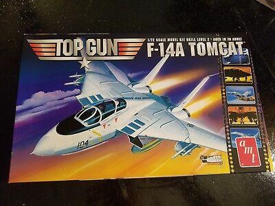 NEW, Open Box AMT 1/72 Grumman F-14A Tomcat