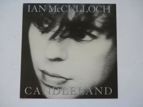 Ian McCulloch Candleland LP Record Photo Flat 12x12 Poster