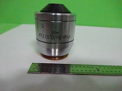 Microscope Polyvar Reichert Leica Objective Plan 5x Epi Optics As Is Binw3-07
