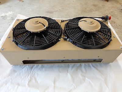 Real Time Navistar Off Road Ac Condenser 134a 24v Heavy Equipment Ac Unit