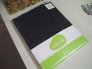 brand new in packet black vinyl tablecloth