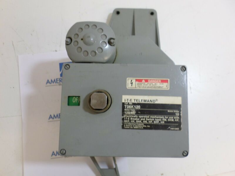 I-T-E Telemand T06K120 120 AC Motor Volts Electric Operator Used