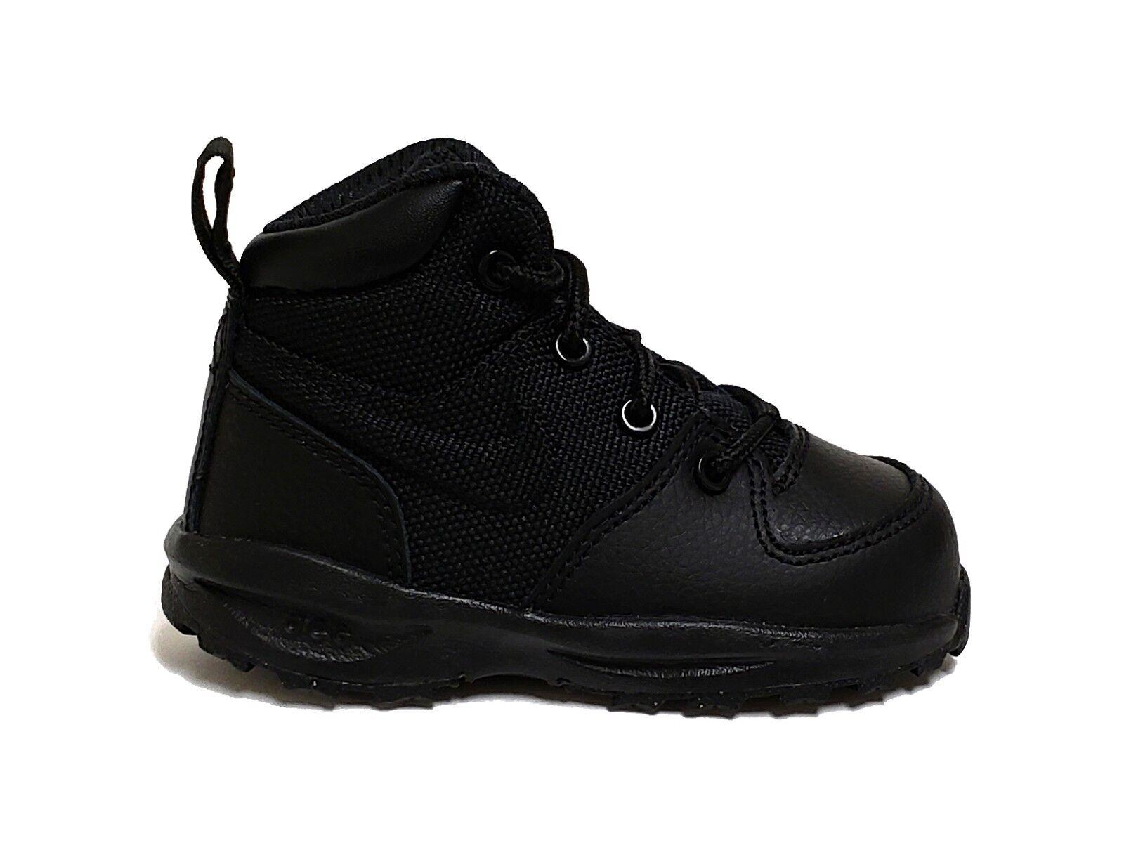 Nike Infant & Toddler's MANOA LTH TXT TD Shoes Black 613548-001 b