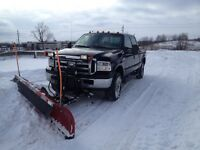 Snow plowing, Snow Removal, Salting