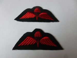 ROYAL MARINES PARACHUTE QUALIFICATION WINGS - AS SHOWN X 2 - NEW