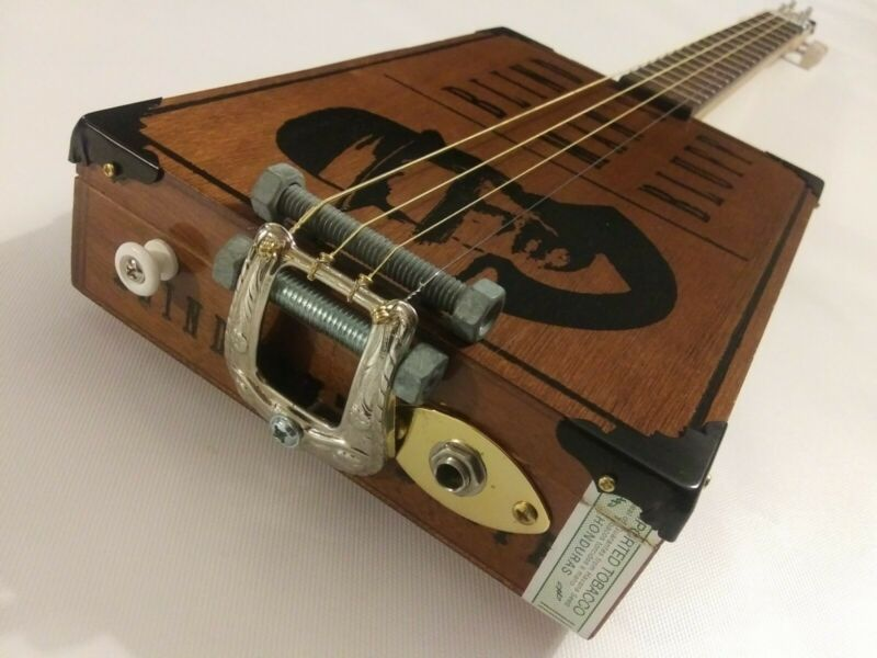 *GRITTY FISH* Handcrafted 4 String Electric CBG